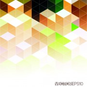 Link toBright triangles pattern vector background 05