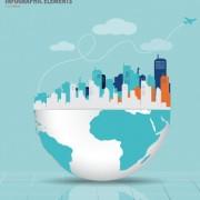 Link toBusiness infographic creative design 1404