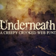 Link toClassic creepy crooked web font