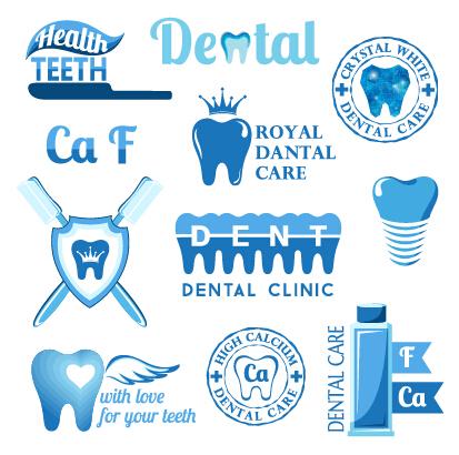 Dental Logo Vector Classic Dental Logos And