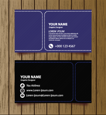 Classic modern business cards vector material 01 free download classic modern business cards vector material 01 colourmoves