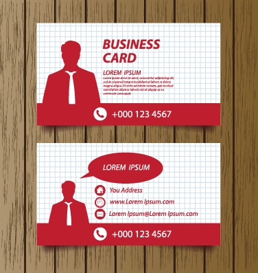 Classic modern business cards vector material 04 free download classic modern business cards vector material 04 reheart Images