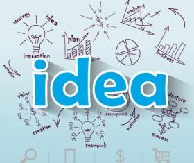 Creative business Idea template graphics vector 05