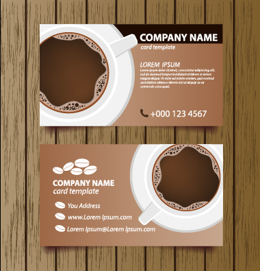 Creative coffee house business cards vector graphic 02 free download creative coffee house business cards vector graphic 02 wajeb