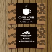Link toCreative coffee house business cards vector graphic 04