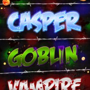 Creative halloween font style photoshop styles