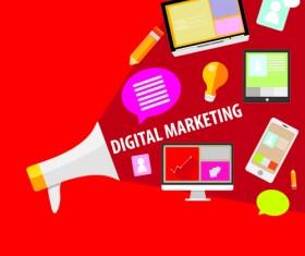 Creative marketing design infographics vector 01