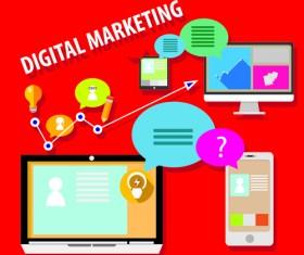 Creative marketing design infographics vector 03