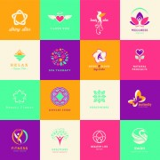 Link toCreative medical and healthcare logos vector set 03
