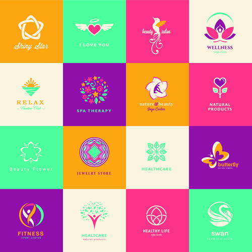 Creative medical and healthcare logos vector set 03 – Over millions ...