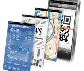 Creative technology elements vector graphics 03