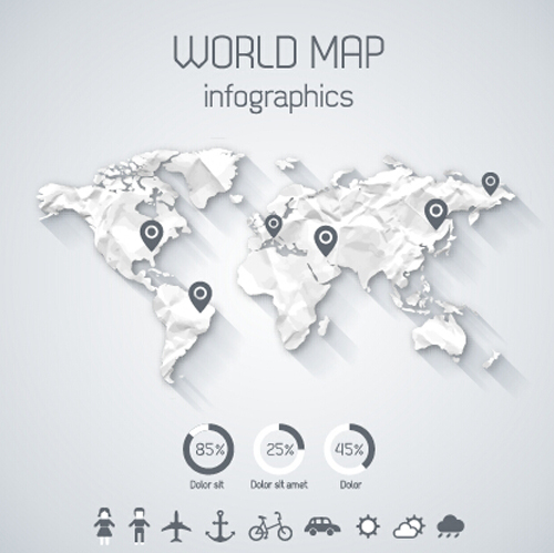 Creative world map and infographics vector graphics 03 free download creative world map and infographics vector graphics 03 gumiabroncs Choice Image