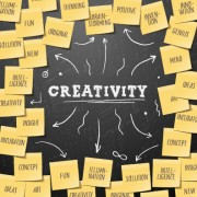 Link toCreativity school design vector background 05