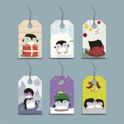Link toCute cartoon penguin tags vector graphics