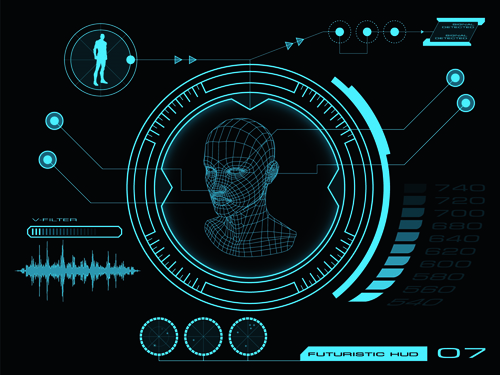 futuristic vector background - photo #28
