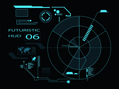 futuristic vector background - photo #24