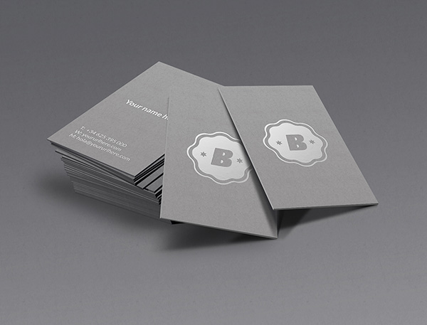 Dark gray business cards template psd psd templates free download dark gray business cards template psd fbccfo Images