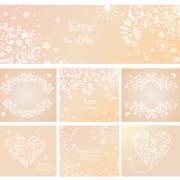 Link toElegant ornaments floral background vector 02