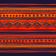 Link toEthnic style tribal patterns graphics vector 03