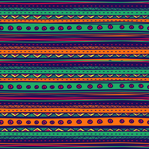 ethnic style tribal patterns graphics vector 05  vector