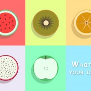 Exquisite fruit psd icons