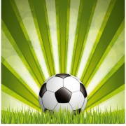 Link toGreen style soccer background vector material 01