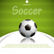 Link toGreen style soccer background vector material 02