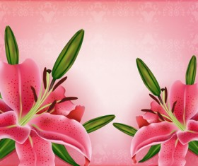 Huge collection of beautiful flower vector graphics 02
