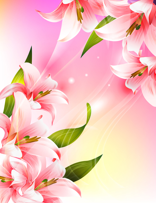 Huge Collection Of Beautiful Flower Vector Graphics 17
