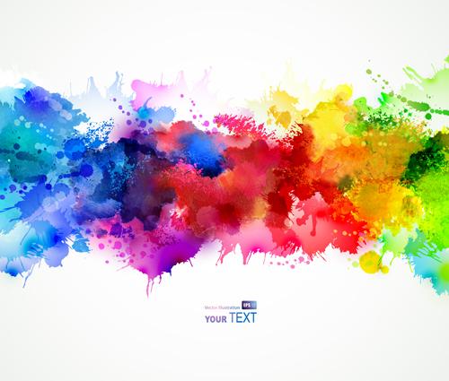 Watercolor Splash Back...