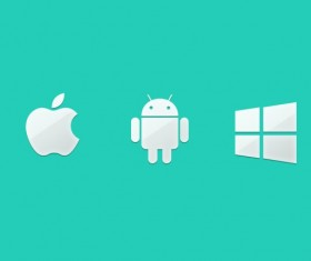 Phone system android with iphone icons