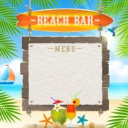 Link toRefreshing summer time vector background 06