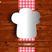 Link toRestaurant menu with wood board background vector 01