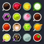 Link toSet of best food icons vectors graphics 01