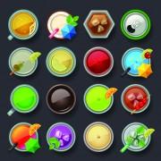 Link toSet of best food icons vectors graphics 03