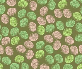 Shell textures seamless pattern vector