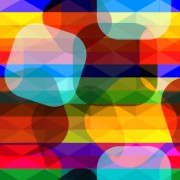 Link toShiny colored shapes vector background