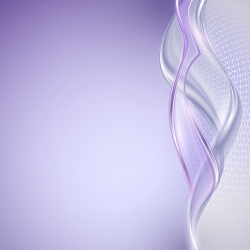 Shiny Purple Wave Abstract Background Vector 02 Free Download