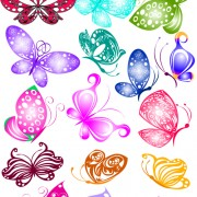 Link toSorts of butterflies clip art vector material 01
