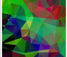 Triangle geometric elements vector background