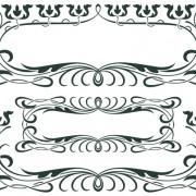 Link toVintage decor borders with frames design vector 04