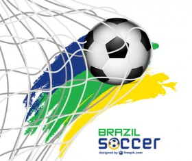 World Cup 2014 Brazil poster vector 01
