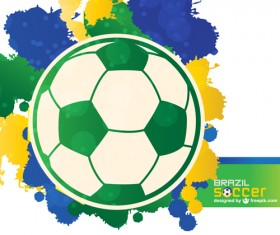 World Cup 2014 Brazil poster vector 02