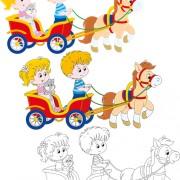 Link toLovely children design elements vectors 04