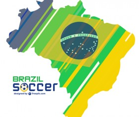2014 brazil world football tournament vector background 09