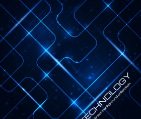 Abstract technology pattern vector background 01