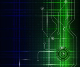 Abstract technology pattern vector background 03