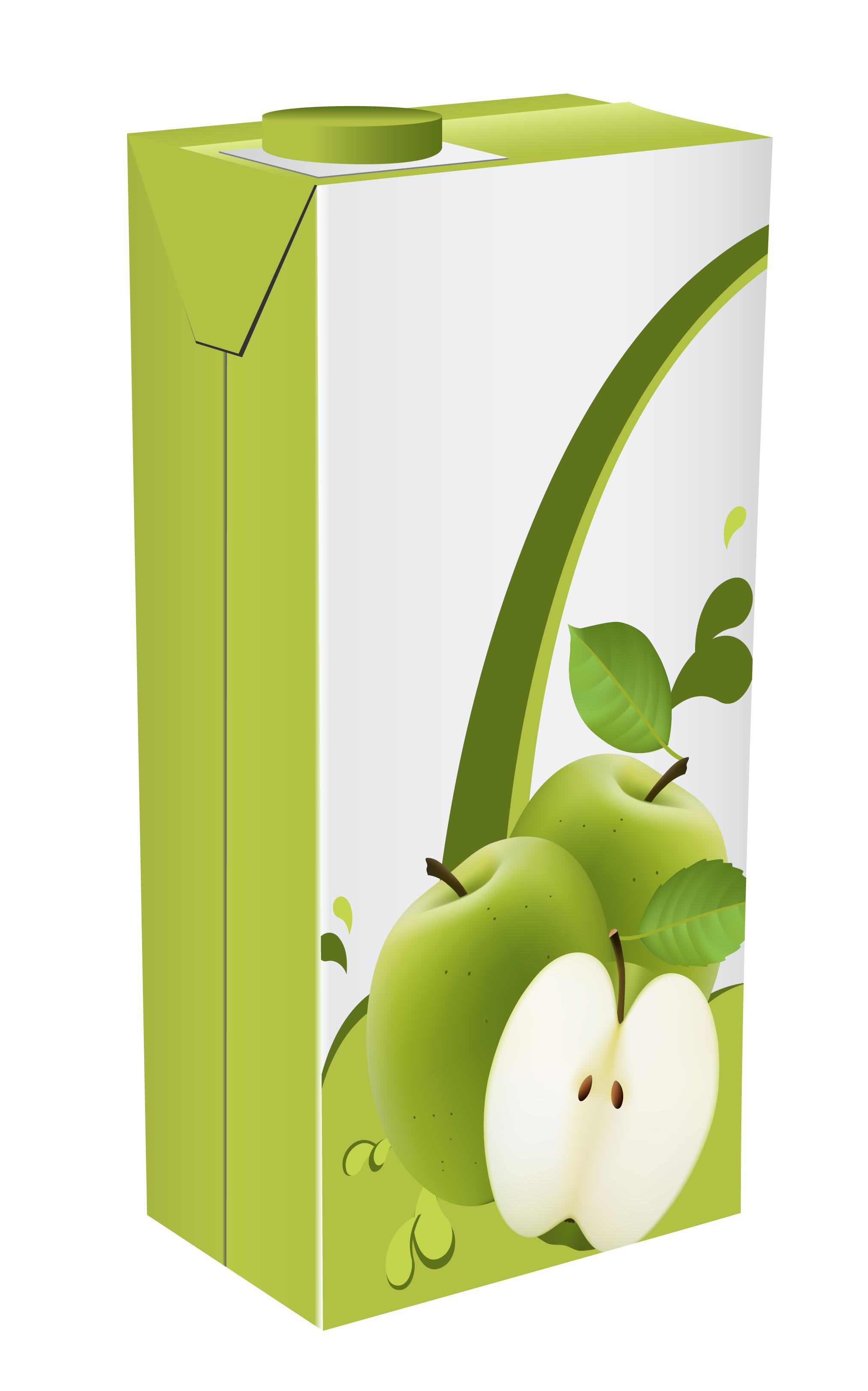 Apple Juice Drinks Package Design Vector 01 Free Download