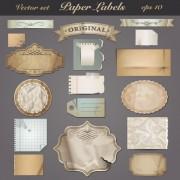 Link toBlank frames design vector collection 06