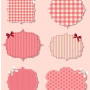 Link toBlank frames design vector collection 09